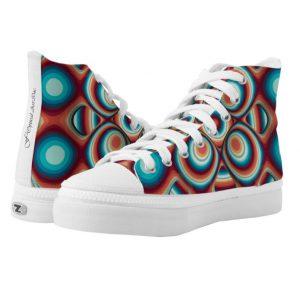 Op-Art Mode Schuhe