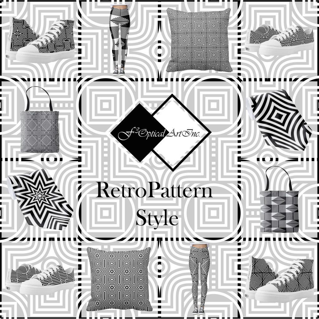 Op-Art Fashion Retro Pattern Style