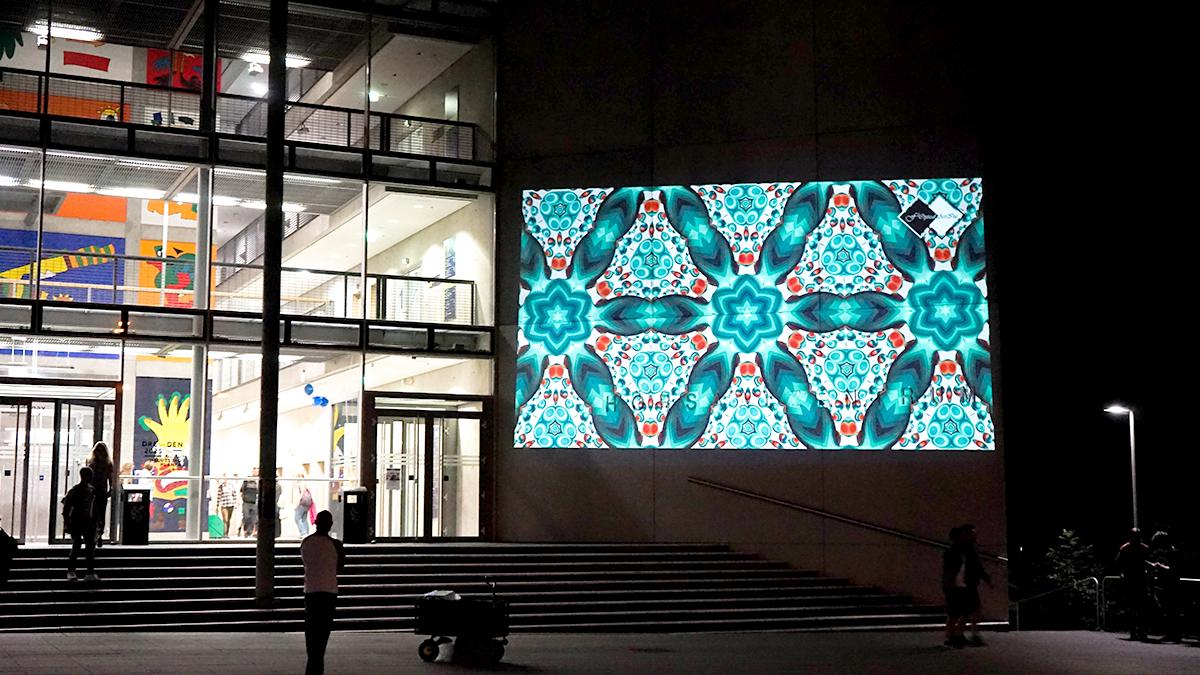 TU Dresden steet art illu my nation