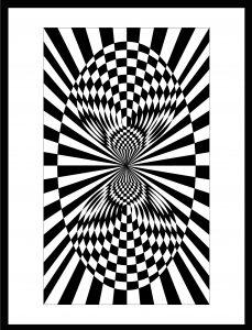 Op-Art Grafik 14