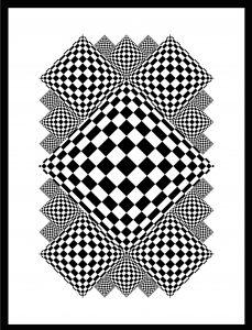 Op-Art Grafik 85