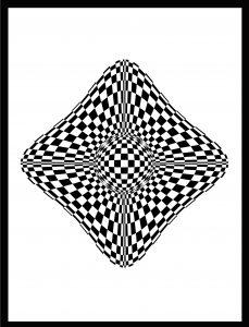 Op-Art Grafik 82