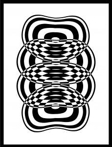 Op-Art Grafik 34
