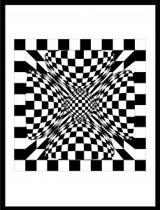 Op-Art Grafik 11