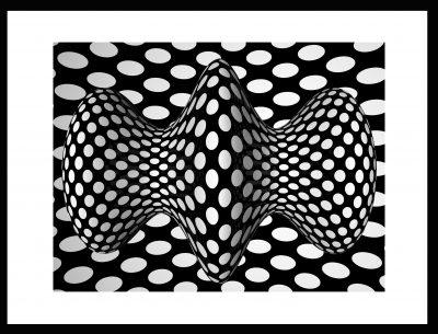 PLASTIQUE Op-Art opricalartinc
