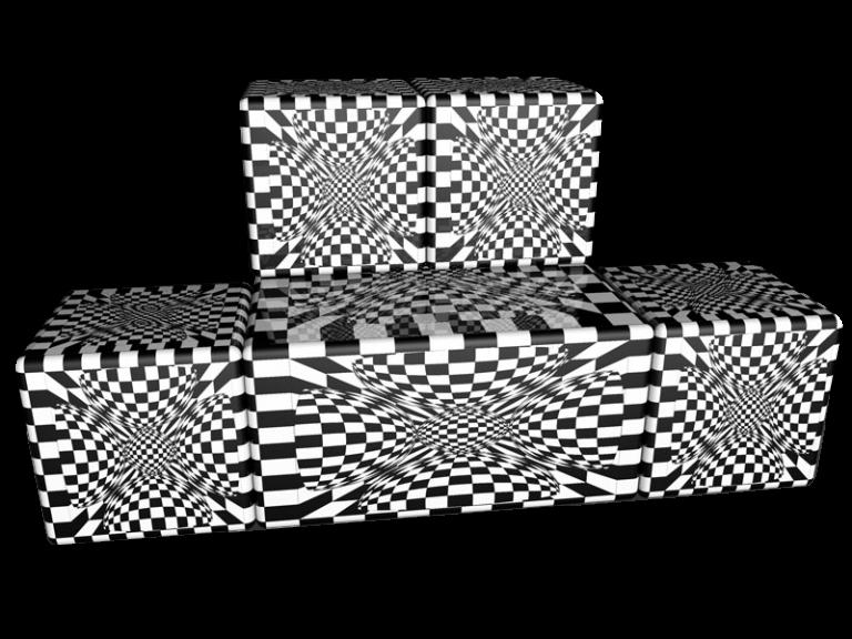 Cube 2.02 Motiv 11 Viersitzer