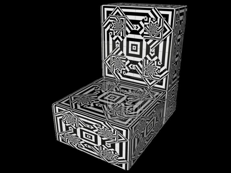 Op-Art Möbeln