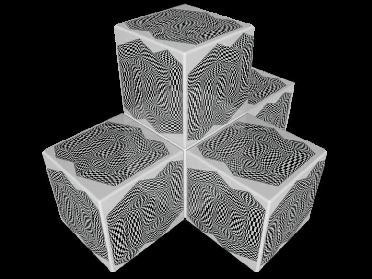 Cube 3.0 Motiv 17/ Dreisitzer