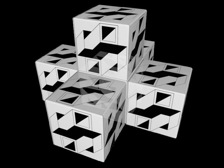 Cube 3.0 Motiv 19/ Viersitzer