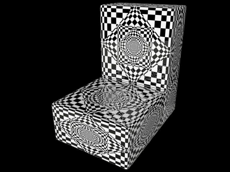 Cube 2.0 Op-Art Grafik 01