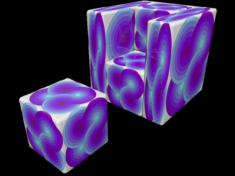 Cube 1.0 Motiv 3 in colour
