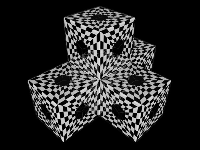 Cube 3.0 Motiv 03/ Dreisitzer