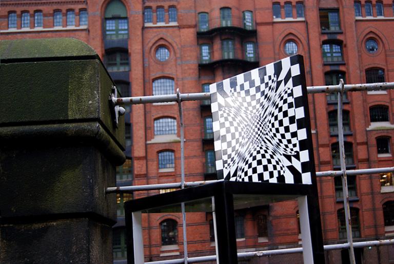 Hamburg Op-Art on tour...