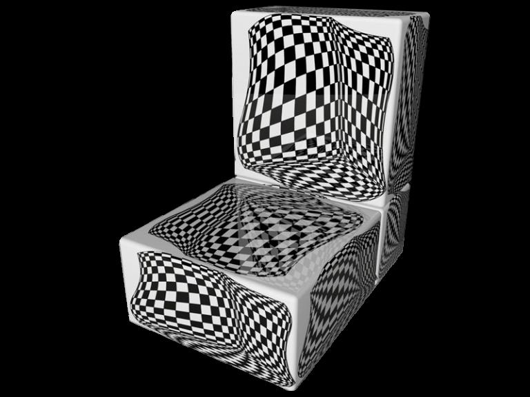 Cube 2.0 Op-Art Grafik 05
