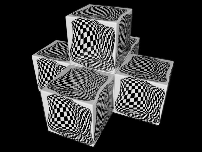 Cube 3.0 Motiv 05/ Viersitzer