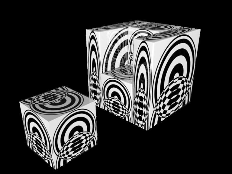 Cube 1.0 Motiv 8 / Einsitzer