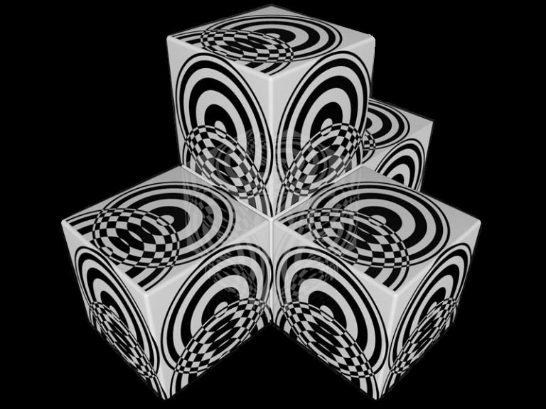 Cube 3.0 Motiv 08/ Dreisitzer