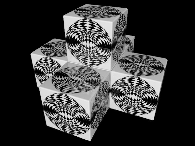 Cube 3.0 Motiv 09/ Viersitzer