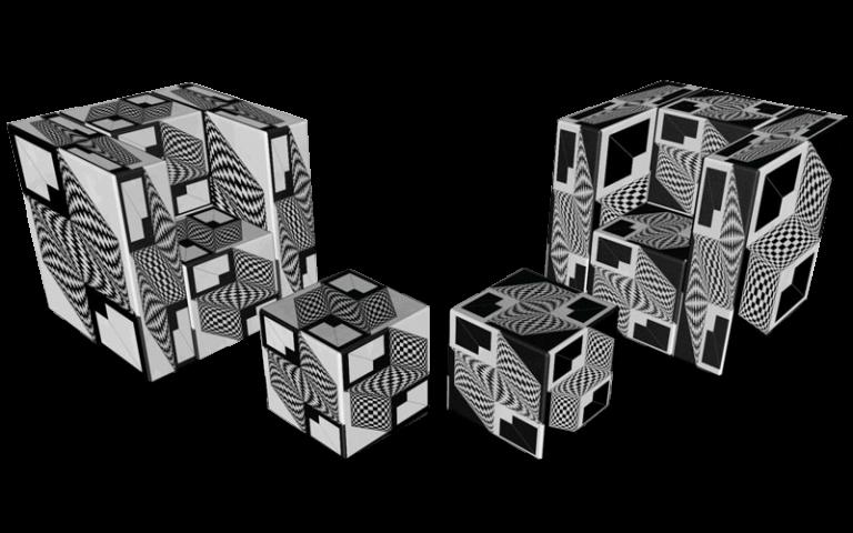 Cube 1.0 Motiv 10 / Twins Einsitzer
