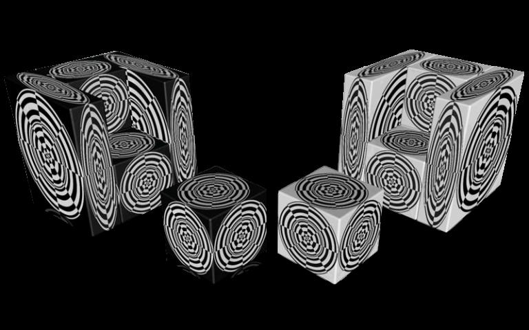 Cube 1.0 Motiv 15 / Twins Einsitzer